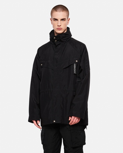 Parka with print Men Givenchy 000226510033490 1