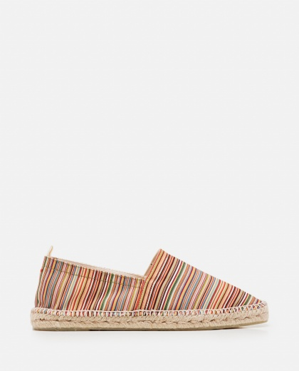 Canvas and suede Pablo flat espadrilles  Men Castaner 000291820042977 1