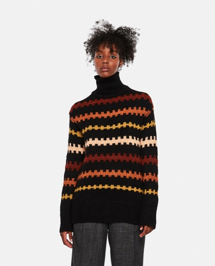 Artist Stripe striped sweater Women Plan C 000263330038930 1