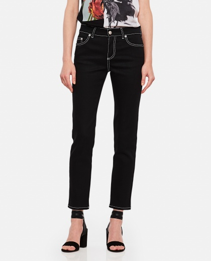 Stretch denim jeans  Women Alexander McQueen 000226860033569 1