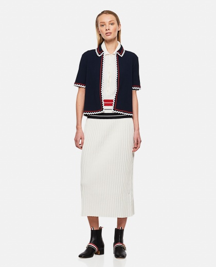 Top with worked hem Donna Thom Browne 000295630043623 2