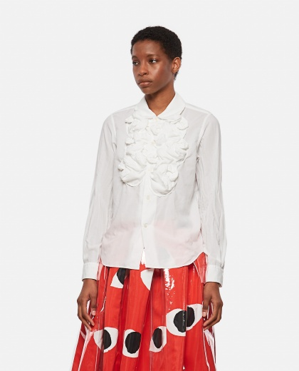 Shirt with ruffles Donna Comme des Garcons 000316180046325 1
