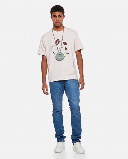 Jean printed cotton T-shirt Men Jacquemus 000293870043257 2