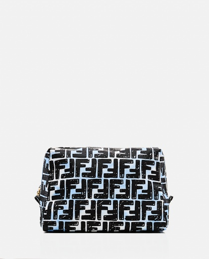 Pouch with graphic print