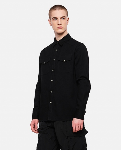Cotton shirt Men Alexander McQueen 000227330033584 1