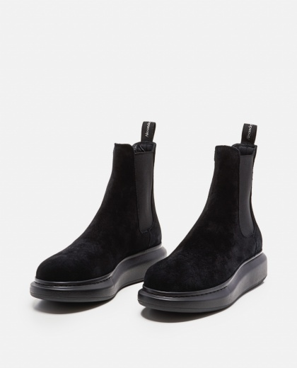 Black Chelsea booties  Men Alexander McQueen 000215180031935 2