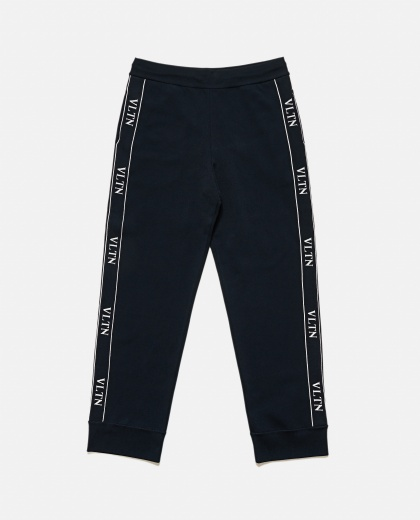 Jogging Pants In Vltn Viscose Men Valentino 000177810026520 2