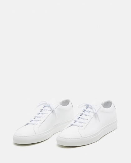 Achilles Low sneakers in leather Men Common Projects 000016090039669 2