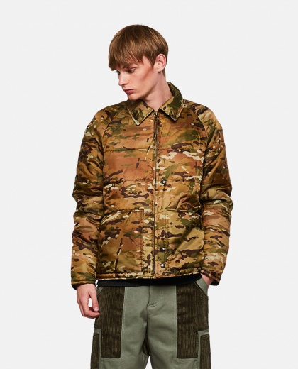 Padded military camouflage jacket Men Junya Watanabe 000270580039839 1