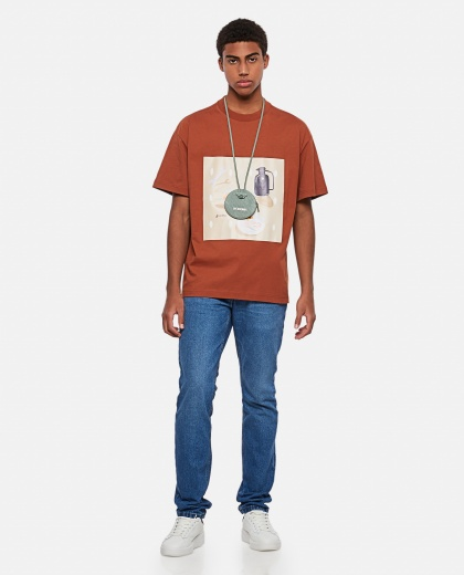 Tableau printed cotton T-shirt Men Jacquemus 000293850043255 2