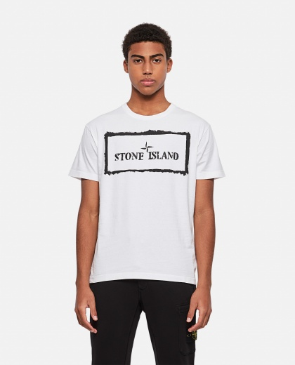 Cotton T-Shirt Print Men Stone Island 000292800043127 1