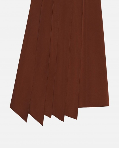 Pleated asymmetrical skirt Women Gucci 000241230035717 2