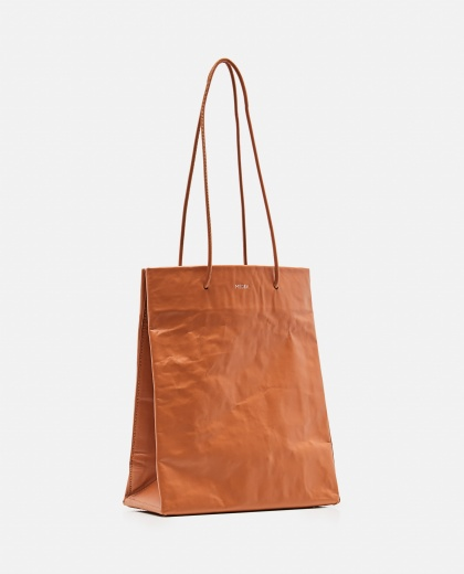 Tote bag with wrinkled effect Women Medea 000262590038853 2