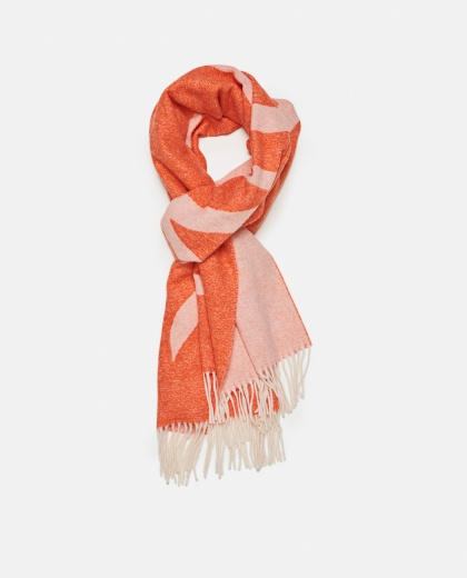 Two-tone wool blend scarf Women Moncler 000259770038449 2