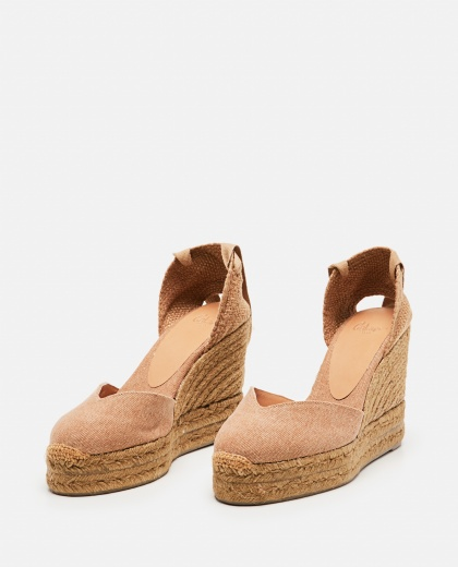 Chiara  canvas espadrille with wedge of 11cm  Women Castaner 000286080042218 2
