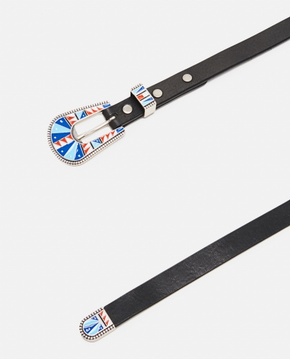 Belt with black leather buckle Women Alanui 000185730027609 2