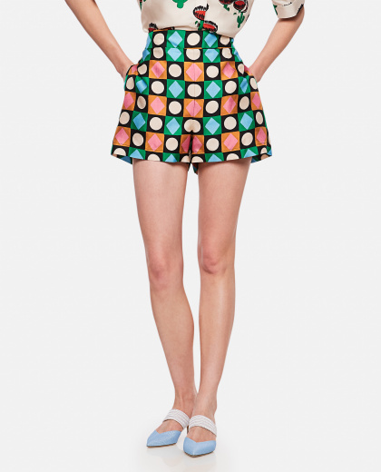 Shorts with geometric print Women La DoubleJ 000239460036792 1