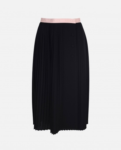 Gucci skirt in black wool jersey