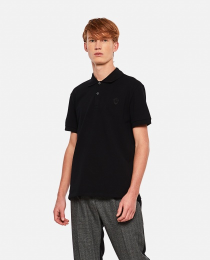 Piquet polo shirt Men Alexander McQueen 000291050042848 1