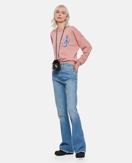 Jeans Karen in bootcut in denim lavaggio medio Donna Golden Goose 000286430042266 2