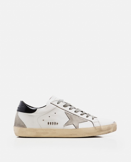 'Superstar' sneakers in leather and suede Men Golden Goose 000269300039696 1