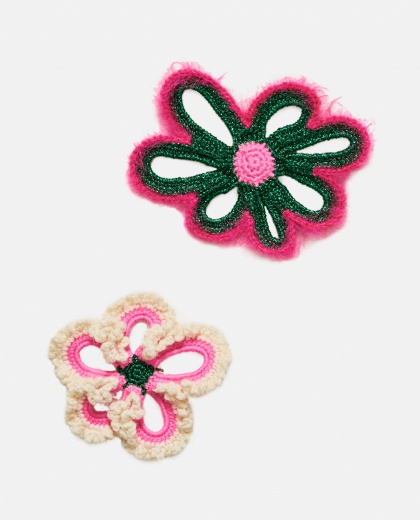 Floral brooches  Women Molly Goddard 000273210040250 1