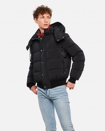 Padded Bomber Jacket Men Alexander McQueen 000179710026758 1