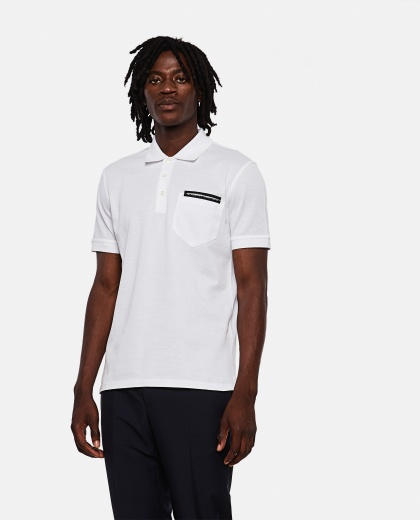 White slim fit polo shirt Men Givenchy 000252960037380 1