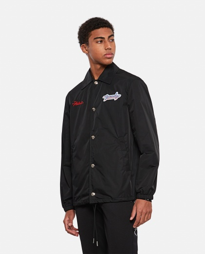 Motel embroidered windbreaker Men Givenchy 000301780044320 1
