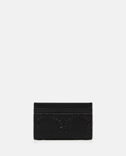 Card holder with embossed GG motif Men Gucci 000293410043210 2