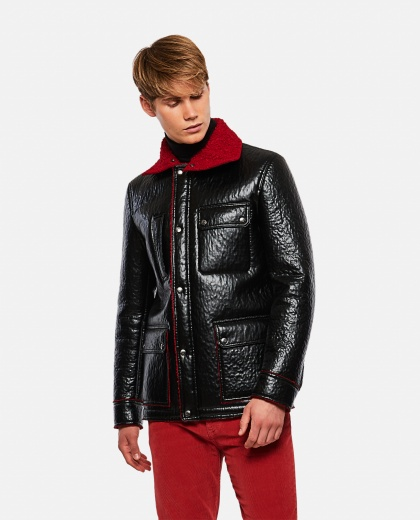 Eco Leather Coat Men Valentino 000264030039014 1