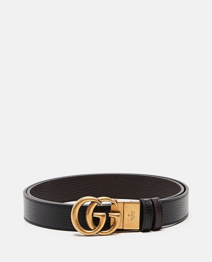 Reversible belt with Double G buckle Men Gucci 000293510043221 1