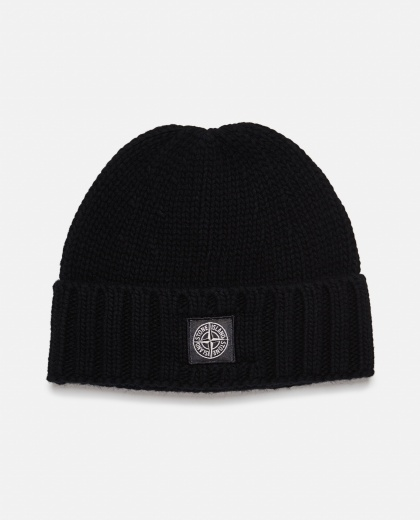 Cap with application Men Stone Island 000271010039926 1