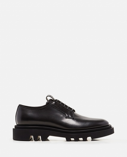 Derby stringata in pelle  Uomo Givenchy 000301710044313 1