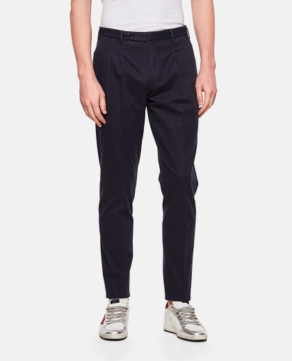 Long cotton trousers