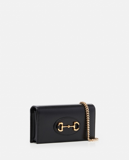 Gucci Horsebit 1955 wallet with chain Women Gucci 000287480042381 2