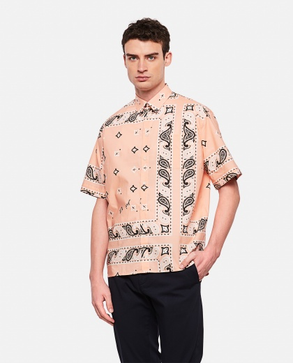 Bandana print shirt Men MSGM 000229300033820 1