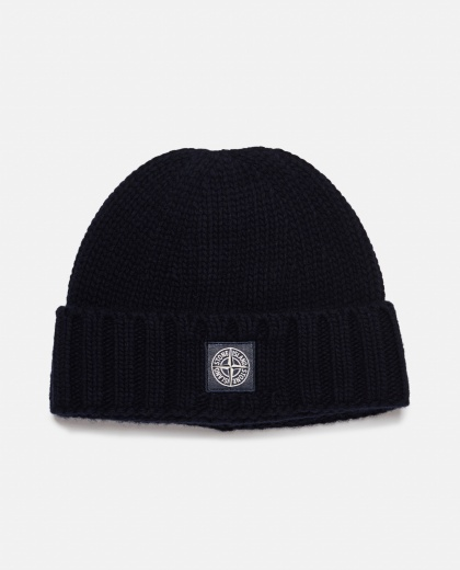 Cap with application Men Stone Island 000271010039927 1