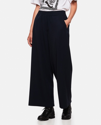 Stretch cropped trousers Women Loewe 000258450038189 1