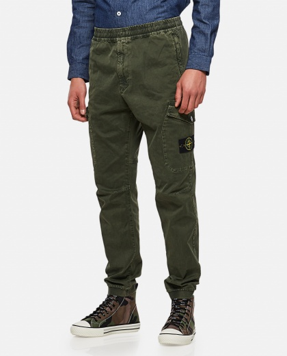 Cargo trousers in cotton Men Stone Island 000270840039876 1