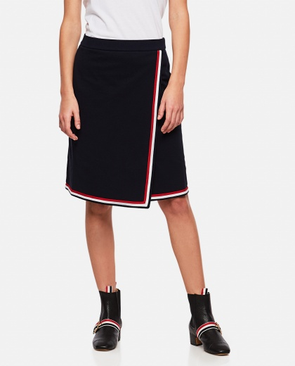 Wrap skirt Women Thom Browne 000274800040458 1
