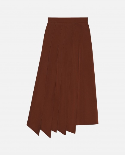 Pleated asymmetrical skirt Women Gucci 000241230035717 1