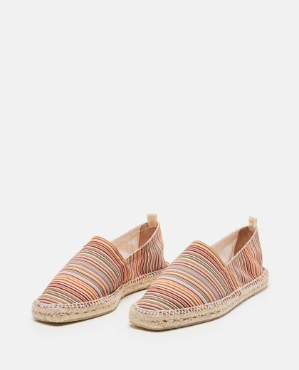 Canvas and suede Pablo flat espadrilles  Men Castaner 000291820042977 2