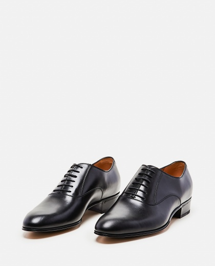 Lace-up shoe with Double G Men Gucci 000267850039512 2