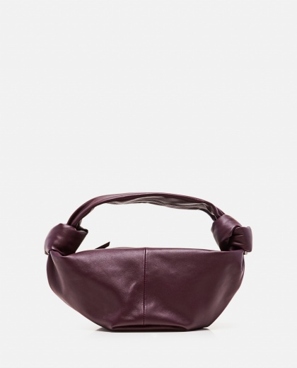 Borsa mini hobo in pelle Donna Bottega Veneta 000258680042131 1