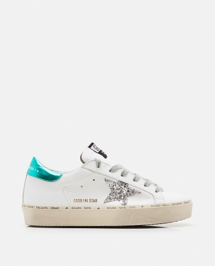 """Hi Star"" sneakers with high sole"