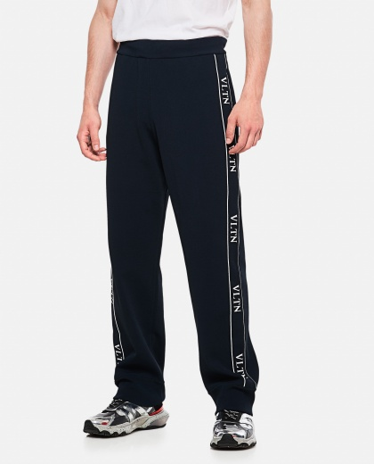 Jogging Pants In Vltn Viscose Men Valentino 000177810026520 1