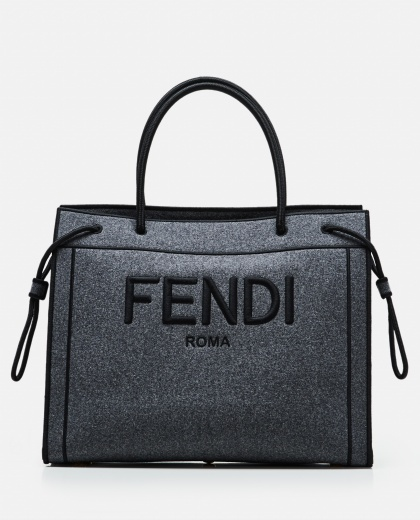 Fendi tote bag with embroidered logo