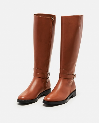 Boots with logo plaque Women Tod's 000255630037776 2