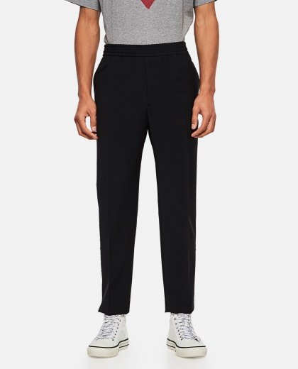 Straight-leg cotton trousers Men Golden Goose 000292050043011 1